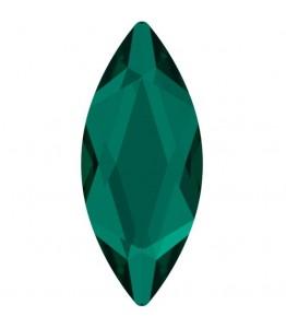 Swarovski kristalai Emerald (10 vnt.)