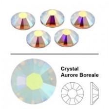 Swarovski kristalai Aurore Boreale SS3 (50vnt.)