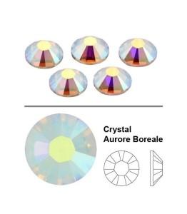 Swarovski kristalai Aurore Boreale SS5 (50vnt.)